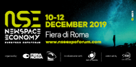 Fiera Roma, 10-12 December 2019 - The NSE ExpoForum is an international event which will focus on the New Space Economy and its capability to promote and create new market opportunities and economic development in Europe.