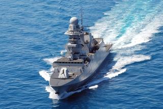 La fregata Bergamini