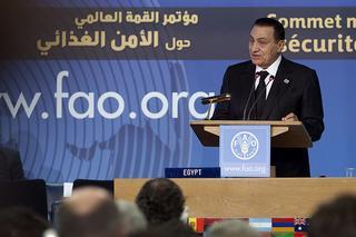 Il Presidente egiziano, Hosni Mubarak