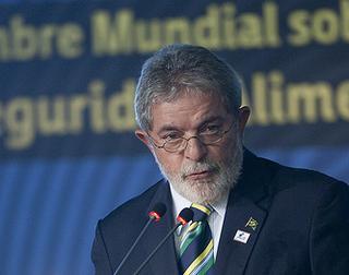 Il Presidente brasiliano, Luis Inacio Lula da Silva