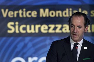 Il ministro italiano dell'Agricoltura, Luca Zaia