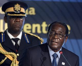 Il Presidente dello Zimbabwe, Robert Gabriel Mugabe