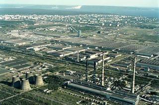 Togliatti, l'area industriale