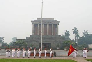 Hanoi, il mausoleo di Ho Chi Minh