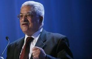 Il presidente dell'Autorità nazionale palestinese, Abu Mazen