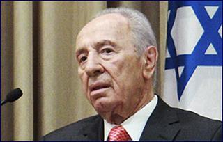 Il presidente israeliano, Shimon Peres