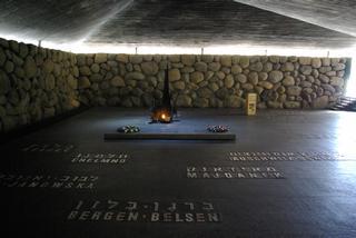 Il Memorial nel Museo dell'Olocausto di Gerusalemme