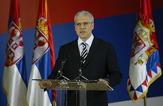 Il presidente serbo, Boris Tadic