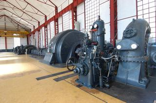 L'interno di una centrale idroelettrica Edison