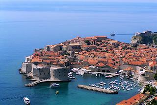 Il centro storico di Dubrovnik (Ragusa)