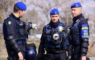 I carabinieri italiani che partecipano alla missione Eulex