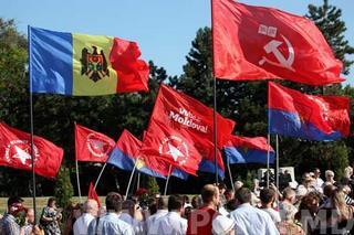 Manifestazione elettorale del Partito comunista