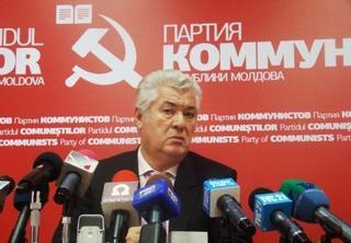 Il leader del Partito comunista moldavo, Vladimir Voronin