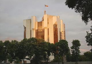 Il palazzo presidenziale di Chisinau