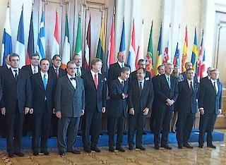 I ministri degli Esteri del gruppo d'azione europea per la Moldova, riuniti a Chisinau