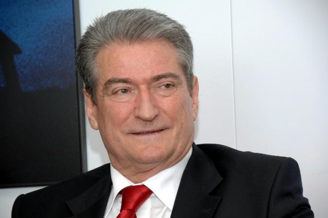 Il premier albanese, Sali Berisha