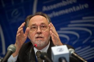 Dick Marty, autore del rapporto del Consiglio d'Europa sulla criminalità organizzata in Kosovo