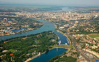 Panorama di Belgrado