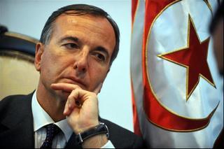 Il ministro degli Esteri italiano, Franco Frattini