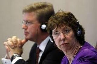 Stefan Fuele e Catherine Ashton