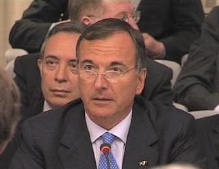 L'intervento del ministro Frattini