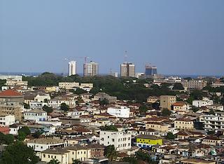 Veduta di Accra