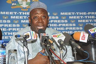 Il ministro degliEsteri ganese, Alhaji Muhammad Mumuni