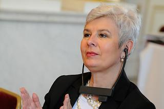 Il primo ministro croato, Jadranka Kosor