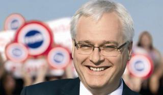 Il presidente croato, Ivo Josipovic