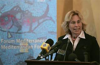 Il sottosegretario agli Esteri Stefania Craxi