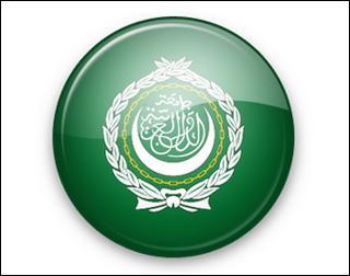 Lo stemma della Lega araba