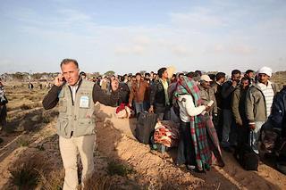 Libia: rifugiati