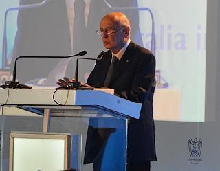 L'intervento di Napolitano al forum organizzato da Confindustria Romania
