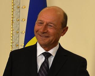 Il presidente romeno Traian Basescu