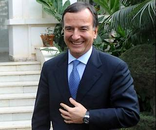 Il ministro degli Esteri, Franco Frattini