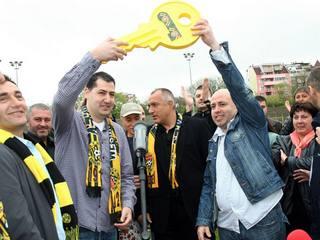 Il nuovo sindaco di Plovdiv, Ivan Totev (a sinistra)