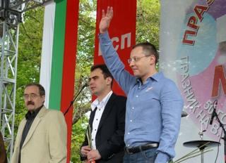 Il leader socialista, Sergei Stanishev