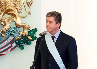 Il presidente uscente, Georgi Parvanov
