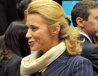 Il direttore generale della Cooperazione italiana, Elisabetta Belloni