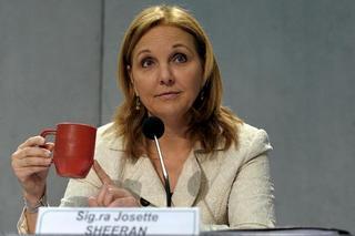 Il direttore esecutivo del Pam, Josette Sheeran