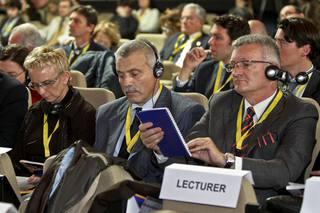 La platea della conferenza
