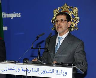 Il ministro degli Esteri del Marocco, Saad Eddine El Othmani