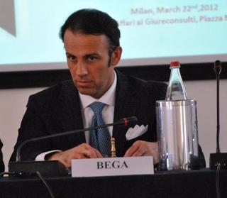 Il dirigente per l'area mediterranea e il Medio Oriente di Promos, Federico Maria Bega
