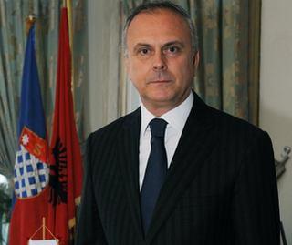 Il sindaco di Scutari, Lorenc Luka