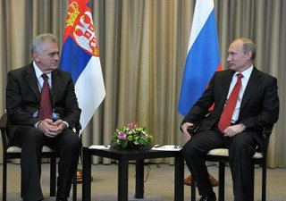 Nikolic con Putin