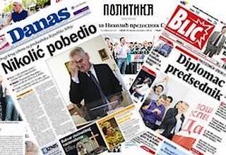 Commenti della Stampa Serba