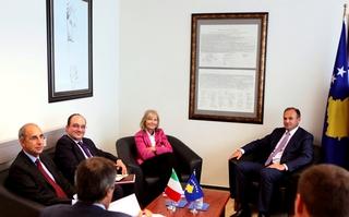 Incontro con Ministro Hoxhaj