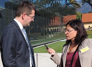 """Il segretario di Stato allo Sviluppo economico sloveno, Urso Rozic, intervistato da """"Nova"""""""