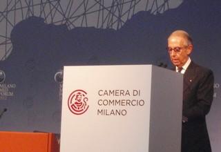 Bruno Ermoli, presidente di Promos, al Med Forum di Milano