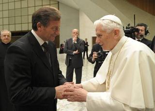 Erjavec in Vaticano